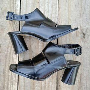 Enzo Angiolini Wide Strap Sandals